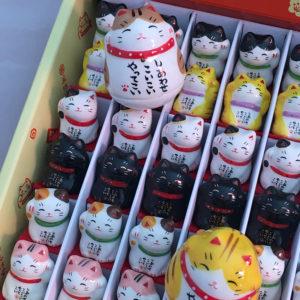 Maneki neko porcelaine – mini